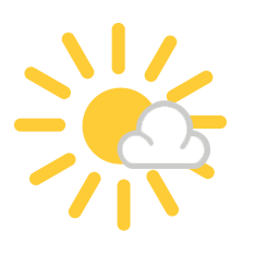 Weather icon partly cloudy